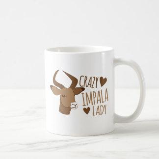 Caneca De Café senhora louca do impala