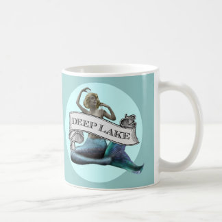 """Caneca De Café """"Sereia do lago profundo"""""""