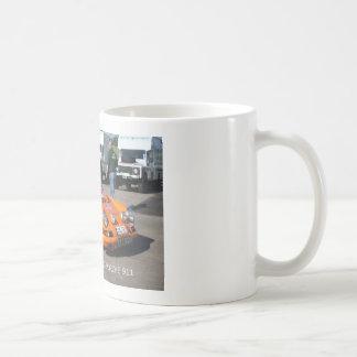 Caneca De Café Série do carro da reunião - 02 Porche 911