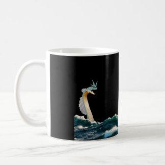 Caneca De Café Serpente de mar