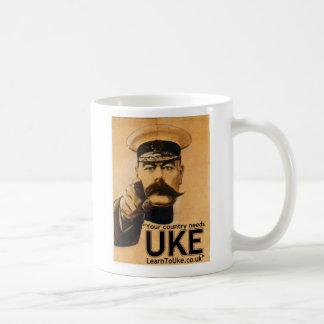 Caneca De Café Seu país precisa UKE!