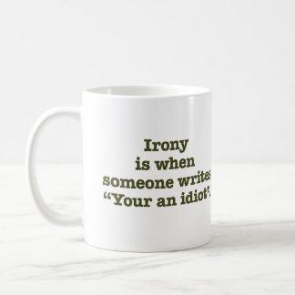 Caneca De Café Seu um idiota