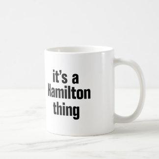 Caneca De Café seu uma coisa de hamilton