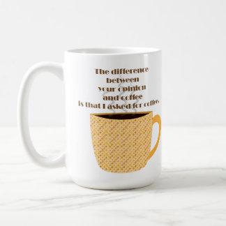 Caneca De Café Seus opinião e café