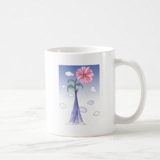 Caneca De Café ShardArt flower power por Tony Fernandes