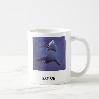 Caneca De Café shark-attack1, COMEM-ME!