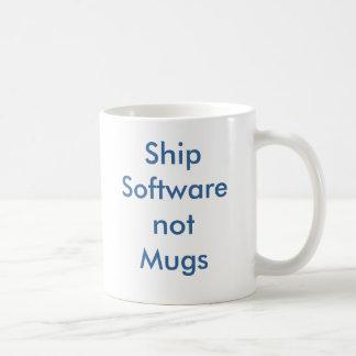Caneca De Café ShipSoftwarenotMugs