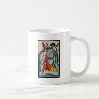 Caneca De Café Shiva intoxicado que guardara o cordeiro