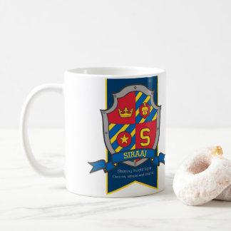 Caneca De Café Significado conhecido azul vermelho da heráldica