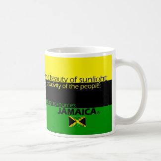 Caneca De Café Significado de cores da bandeira de Jamaica