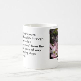 Caneca De Café Significado na natureza: Flor do Dogwood