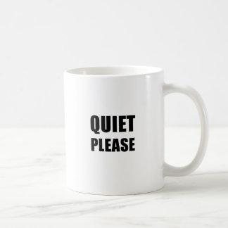 Caneca De Café Silêncio por favor