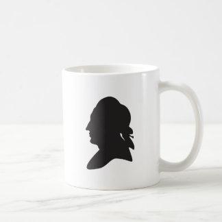 Caneca De Café silhueta de Goethe
