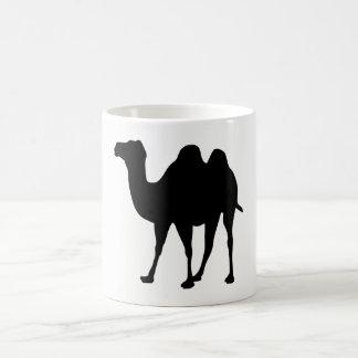 Caneca De Café Silhueta do camelo