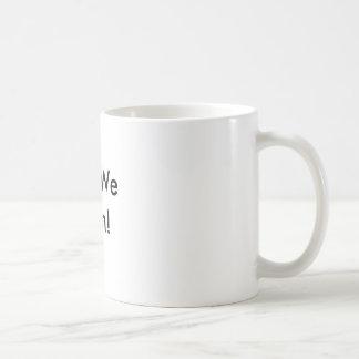 Caneca De Café Sim nós podemos!