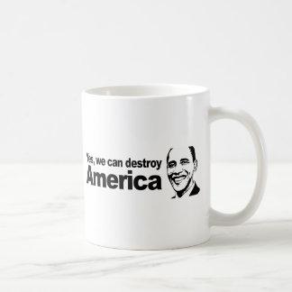 Caneca De Café Sim nós podemos destruir América