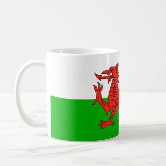 Caneca De Café símbolo britânico de galês da nação da bandeira de
