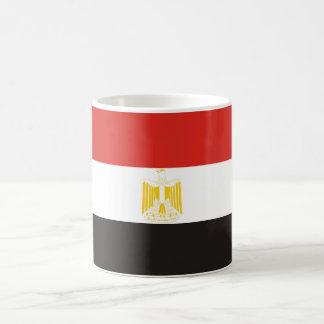 Caneca De Café símbolo da bandeira de país de Egipto por muito