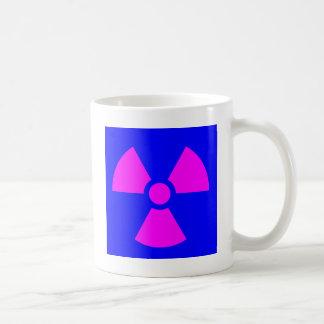 Caneca De Café Símbolo de advertência da radiação