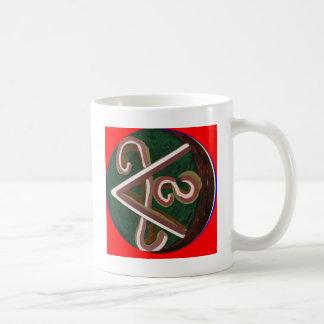Caneca De Café Símbolo de SHANTI: para amantes da paz