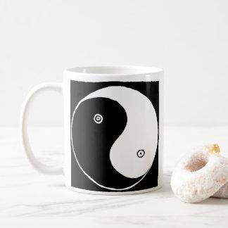Caneca De Café Símbolo de Yin Yang do chinês