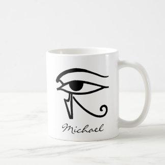 Caneca De Café Símbolo egípcio: Utchat