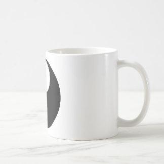 Caneca De Café Símbolo filosófico inspirador de Yin e de Yang