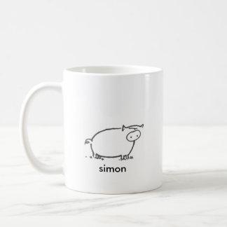 Caneca De Café Simon - 15 onças