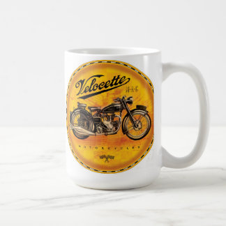 Caneca De Café Sinal ambarino das motocicletas de Velocette