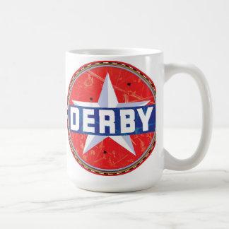 Caneca De Café Sinal da gasolina de Derby