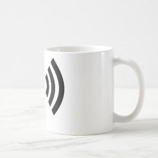Caneca De Café Sinal de Wifi