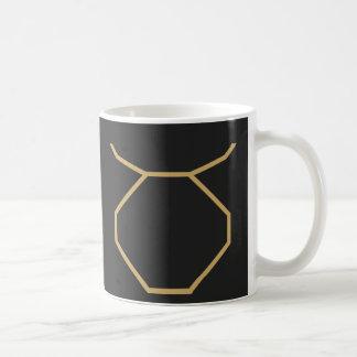 Caneca De Café Sinal do zodíaco do Taurus básico