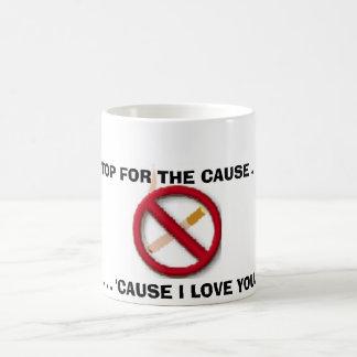 Caneca De Café sinal não fumadores