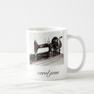 Caneca De Café Singer-New-Family-Sewing-Machine-1865-Giclee-Pr…