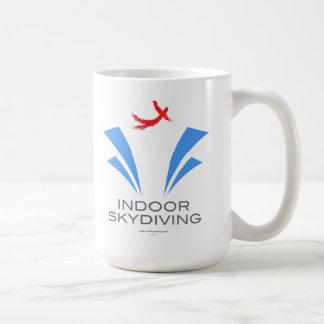 Caneca De Café Skydiving interno