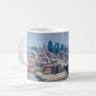 Caneca De Café Skyline bonita de Kansas City
