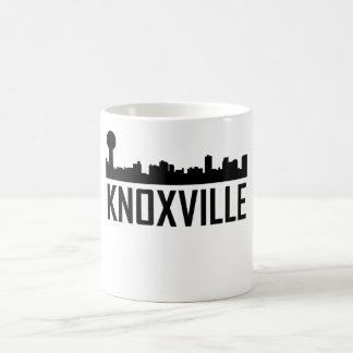 Caneca De Café Skyline da cidade de Knoxville Tennessee