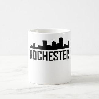 Caneca De Café Skyline da Nova Iorque de Rochester