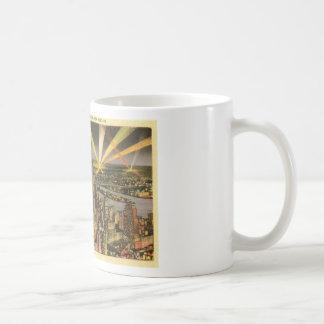 Caneca De Café Skyline da Nova Iorque do vintage