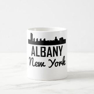 Caneca De Café Skyline de Albany New York