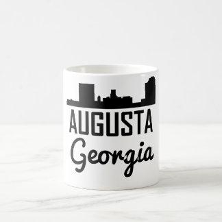 Caneca De Café Skyline de Augusta Geórgia