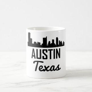 Caneca De Café Skyline de Austin Texas