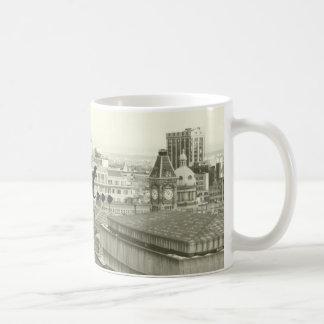 Caneca De Café Skyline de Birmingham e brummie tara dizer do