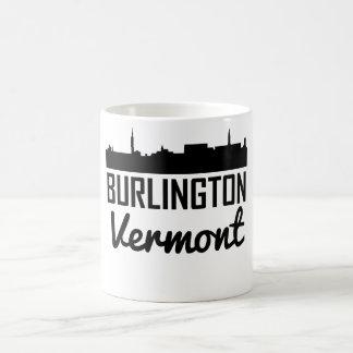 Caneca De Café Skyline de Burlington Vermont