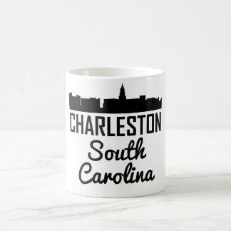 Caneca De Café Skyline de Charleston South Carolina