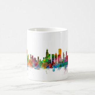 Caneca De Café Skyline de Chicago Illinois