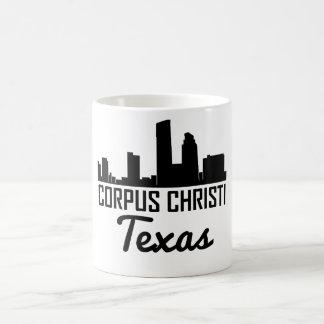 Caneca De Café Skyline de Corpus Christi Texas