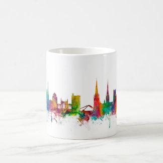 Caneca De Café Skyline de Coventry Inglaterra