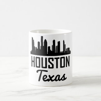 Caneca De Café Skyline de Houston Texas