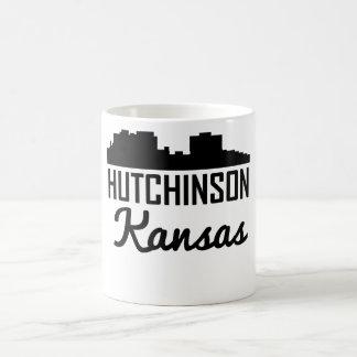 Caneca De Café Skyline de Hutchinson Kansas